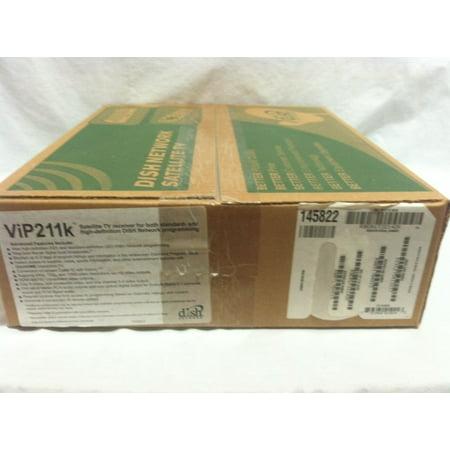 Dish Network ViP211K MPEG4 High-Definition HDTV Satellite Receiver Tuner -