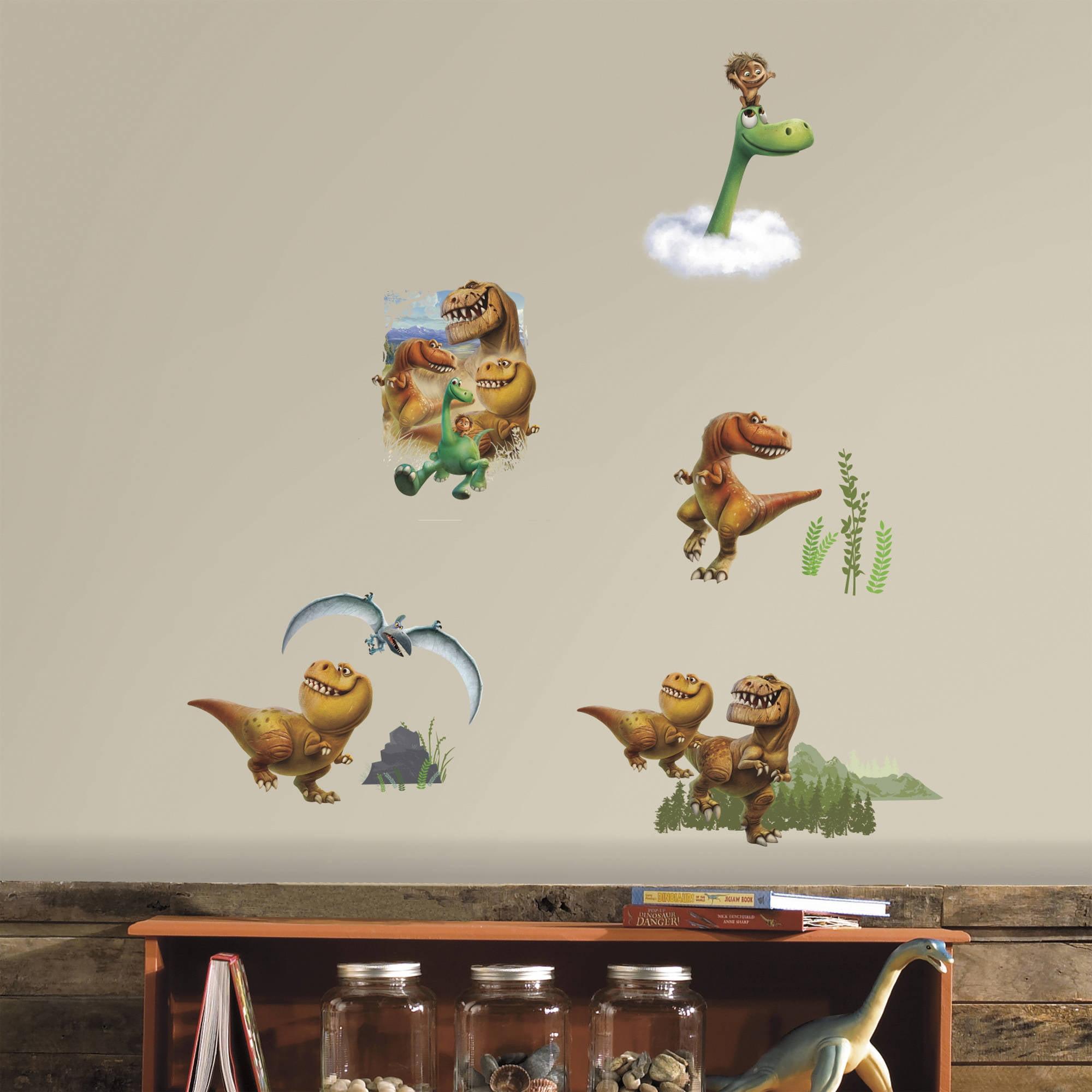 Good Dinosaur Peel And Stick Wall Decals   Walmart.com