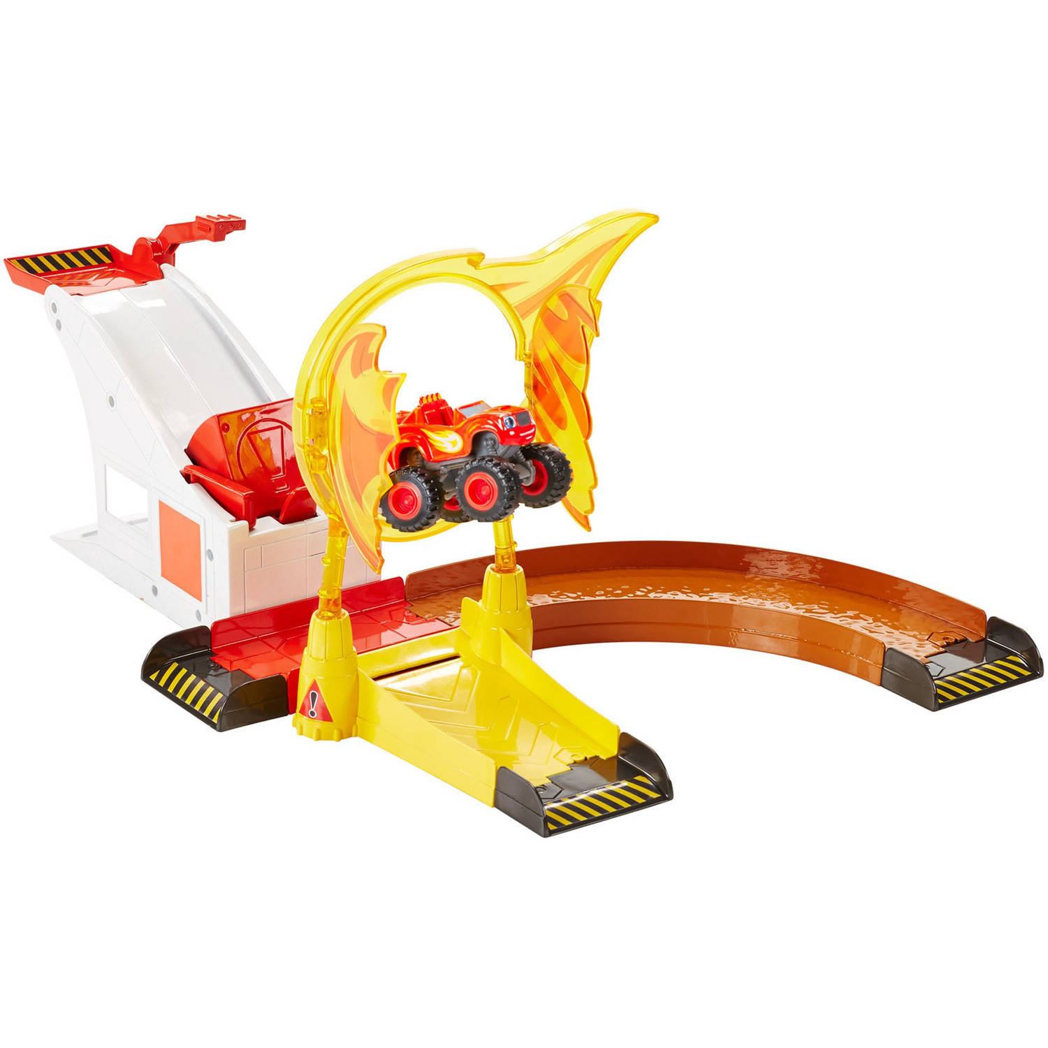 Nickelodeon Blaze and the Monster Machines Flaming Stunts Blaze by FO SHAN CITY NANHAI MATTEL