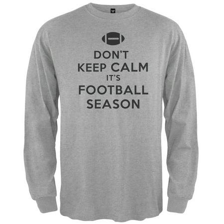Don't Keep Calm it's Football Season Long Sleeve T-Shirt (Keep Calm It's Almost Halloween)
