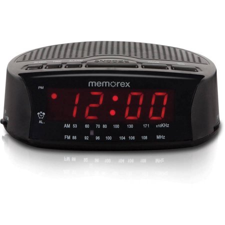 memorex am fm radio alarm clock. Black Bedroom Furniture Sets. Home Design Ideas