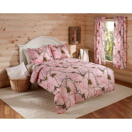 Real Tree Bedding Comforter Set, 1 Each (Real Tree Bedroom Set)