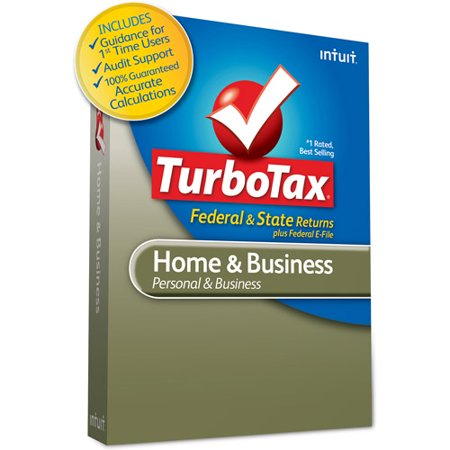 TurboTax Home and Business Fed + E-File + State 2011