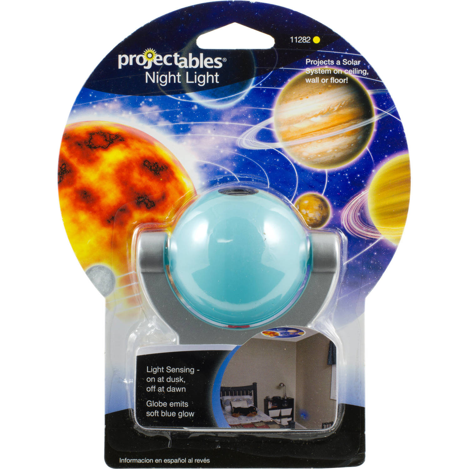 Projectables Night Light, LED Projection Planet Design Plastic