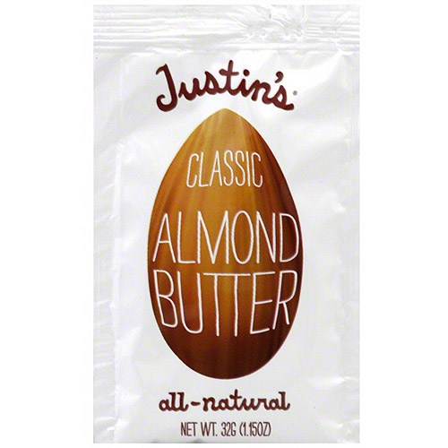 Justin's Classic All-Natural Almond Butter, 1.15 oz (Pack of 10)