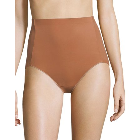 Caramel Apparel - Maidenform Womens Cover Your Bases At Waist Brief, L, Nude 4/Caramel