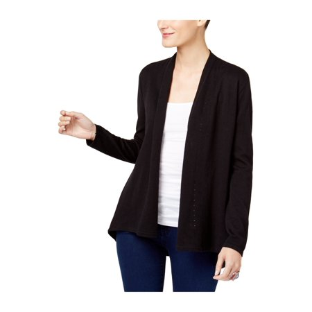 Style&co. Womens Pleat Detail Cardigan Sweater