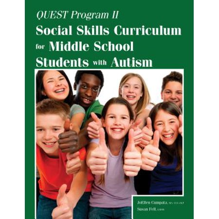 Quest Program II : Social Skills Curriculum for Middle School Students with (Following Directions Activities For Middle School Students)
