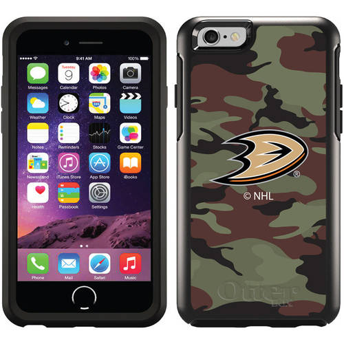 Anaheim Ducks Traditional Camo Design on OtterBox Symmetry Series Case for Apple iPhone 6