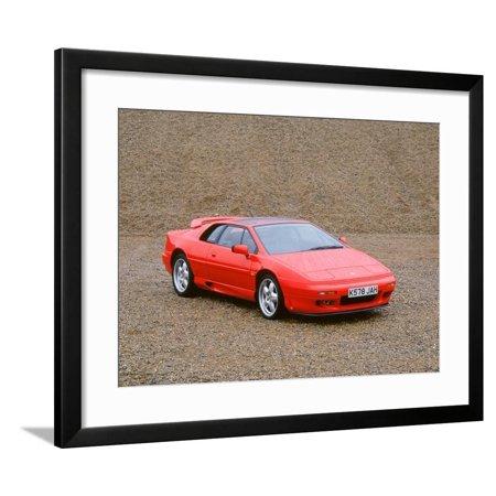 Esprit Model (1993 Lotus Esprit S4 Framed Print Wall Art)