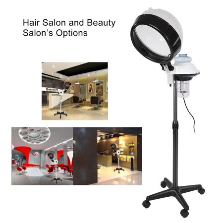 HERCHR Salon Spa Hair Steamer Rolling Stand Hooded Hair Coloring Perming Conditioning Steamer,  Salon Hair Steamer, Hair Color