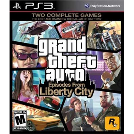 Grand Theft Auto Episodes From Liberty City Rockstar Games Playstation