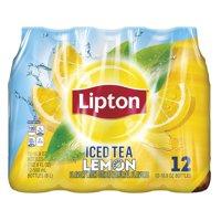 Lipton Lemon Iced Tea, 16.9 Fl Oz (24 bottles)
