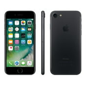 Refurbished Apple iPhone 7 128GB, Black - Locked AT&T