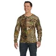 Code V Men's Bleed Resistant Hem Bottom T-Shirt