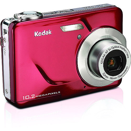 Kodak EasyShare C180 Red 10.2MP Digital Camera with 3x Optical Zoom, Blur Reduction