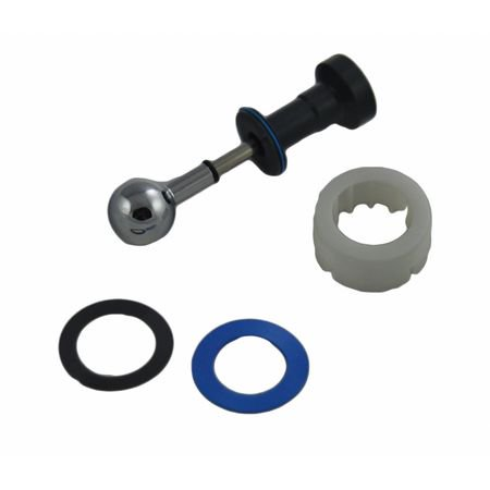 Diverter Tub Spout Repair,Chrome,Metal AMERICAN STANDARD 012653-0020A