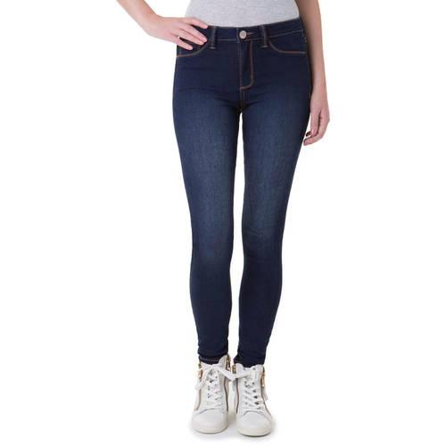No Boundaries Juniors' Essential High Rise Super Skinny Jeans
