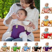 Jeobest Baby Seat Belt Strap - Baby Seat Support - Baby Seat Strap - Safe Seating Strap - Baby Seat Belt Strap Dining Chair Seat Belt Baby Travel Chair Booster Safety Seat Strap Belt (Red) MZ