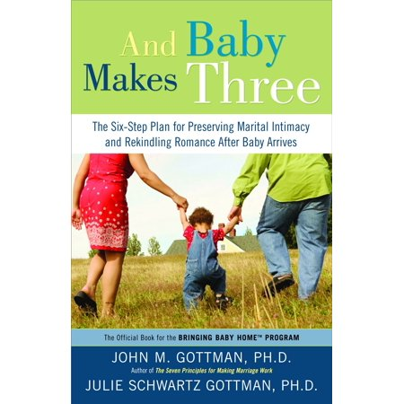 And Baby Makes Three : The Six-Step Plan for Preserving Marital Intimacy and Rekindling Romance After Baby