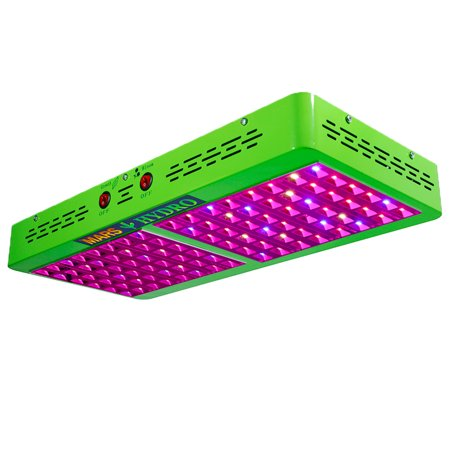 Mars Hydro LED Grow Light Reflector 600W Full Spectrum Veg Flower Lamp Panel Indoor Hydroponic Plant Garden Greenhouse Fruits Vegetables Medical Herb 100% Lumen Output High Par Growth Bloom