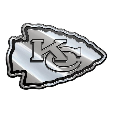 Nfl Football Emblem - NFL Kansas City Chiefs Metal Emblem
