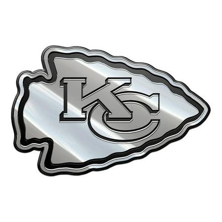 NFL Kansas City Chiefs Metal Emblem