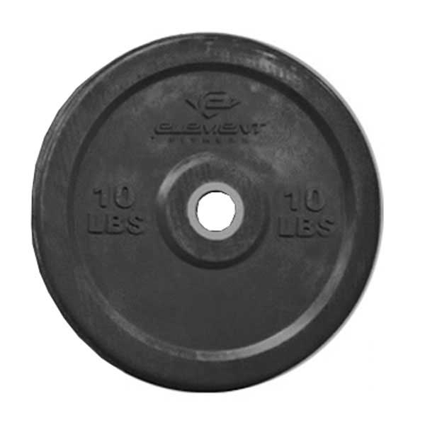 Unified Fitness Group Commercial Black Bumper Plates