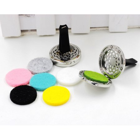 Space Pattern Car Styling Outlet Perfume Clips Vent Air Freshener Purifier Perfume Essential Oil Diffuser for $<!---->