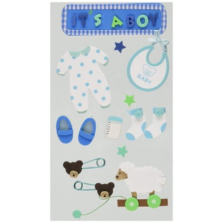 Layered Foam Stickers, Baby Toys, Layered foam stickers in fun bright colors and popular children's themes By JOLEES