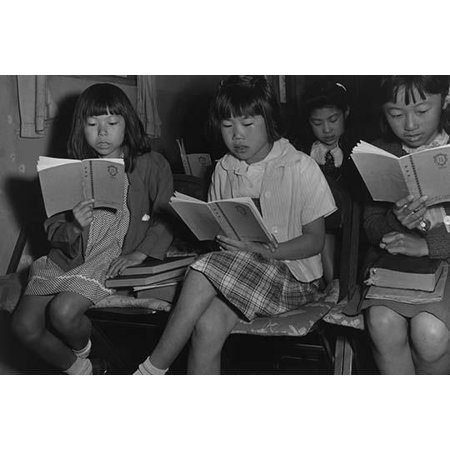 Four girls reading in a Sunday school class  Ansel Easton Adams was an American photographer best known for his black-and-white photographs of the American West  During part of his career he was (Best Hairstyles For School Photos)