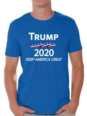 Awkward Styles Trump Flag 2020 Shirt for Men Keep America Great Trump Tshirt Donald Trump T Shirt Funny Gifts for Republican Patriotic Shirts for Men Trump 2020 Shirt Mr. President Political Shirts