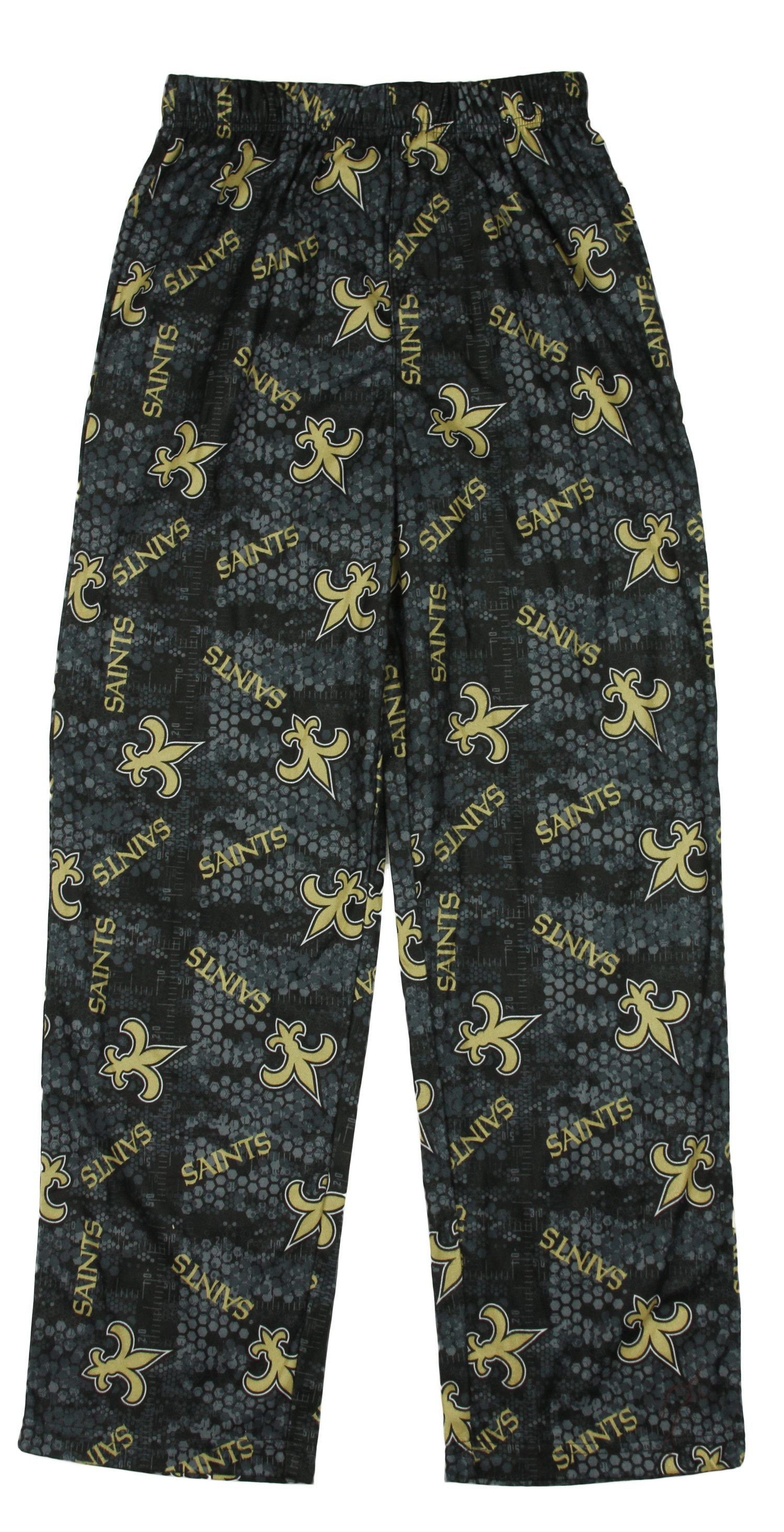 NFL Football Little Kids   Youth Boys New Orleans Saints Lounge Pajama PJ Pants by