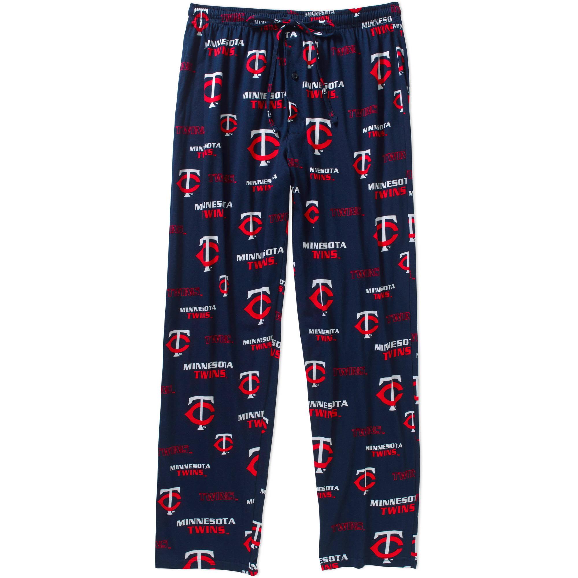 MLB Big Mens Minnesota Twins Knit Sleep Pant, 2XL