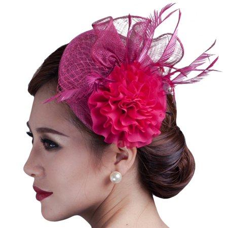 a2ff4f2e9ad87 Fascigirl Cocktail Fascinator Hat Ladies Tea Party Hats Hair ...