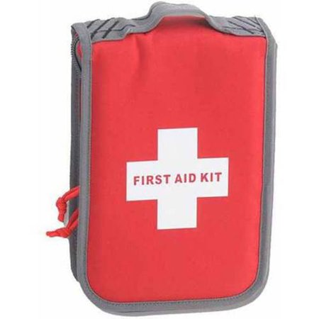 G Outdoors Deceit & Discreet First Aid Kit Pistol Case Red, Large