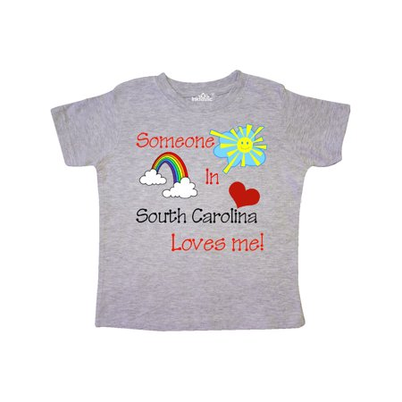 Someone in South Carolina loves me! Toddler T-Shirt](Whiplash In Toddlers)