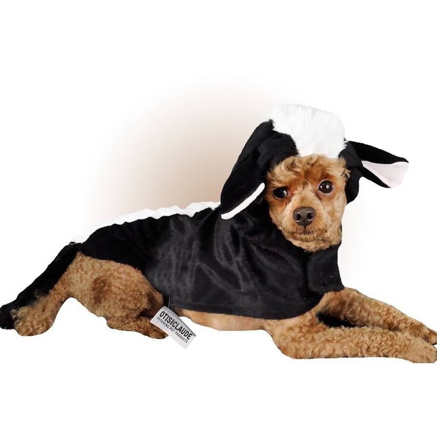 Otis and Claude Fetching Fashion Skunk Costume, S