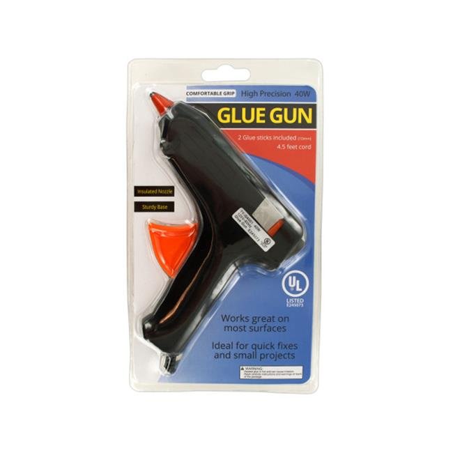 High Precision Glue Gun with Comfortable Grip by Kole Imports