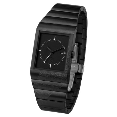 Crossover Usugrow SHIKKOKU IP Black Analogue Watch