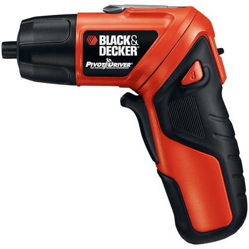 Black & Decker BDKPD400LGM 3.6-volt 2-position Cordless Screwdriver With Light Ring Black & Decker Pd400lg 3.6-volt 2-position Cordless Twist Screwdriver With Light Ring