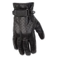 51d1b5e46641d Product Image Black Brand Men's Men's Filter Leather Gloves