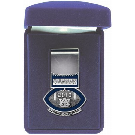 - Auburn Tigers 2010 BCS National Champions Football Logo Money Clip