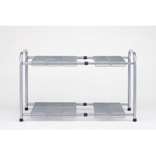 Adjustable Under Sink Cabinet Storage Counter Shelf: Seville Classics Expandable Under The Sink Shelf