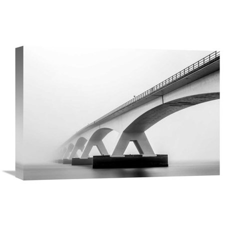 Global Gallery Shades Of Grey By Sus Bogaerts Graphic Art On Wrapped Canvas