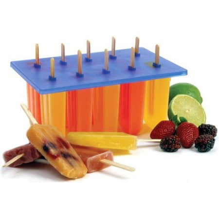 Norpro Frozen Ice Pop Maker with 24 Wooden Sticks