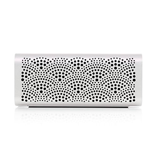 Braven LUX portable bluetooth speaker (pearl with black end caps)