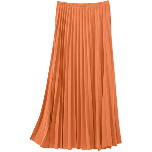 Alexis Taylor Women's Pleated Maxi Skirt
