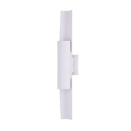 Maxim E41526-WT Alumilux LED Outdoor Wall Sconce, White - image 1 of 1