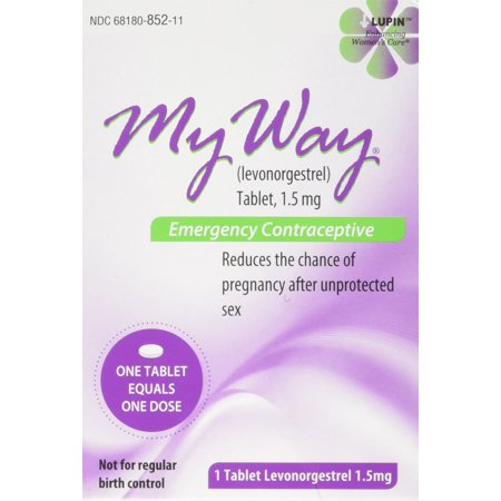 My Way Emergency Contraceptive 1 Tablet *Compare to Plan B One-Step* by Busuna ()